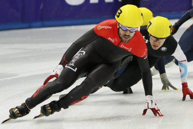 Double médaillé d'or olympique, Charles Hamelin tentera de... (Photo Igor Yakunin, AP)