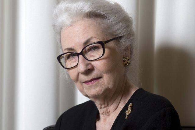 Nicolle Forget s'est liée d'amitié avec Thérèse Casgrain... (Photo: Robert Skinner, La Presse)