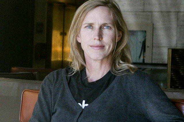 L'écrivaine Miriam Toews a écrit l'histoire de son... (Photo: Patrick Woodbury, Le Droit)