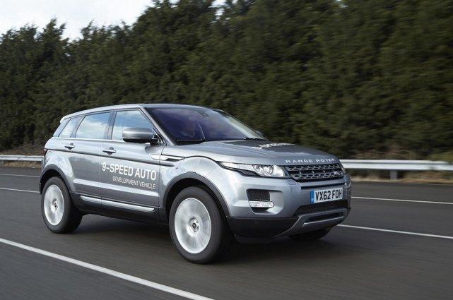 Le Range Rover Evoque équipé de la transmission... (Photo fournie par Land Rover)
