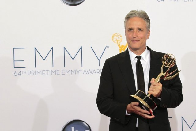 Jon Stewart... (PHOTO MARIO ANZUONI, REUTERS)