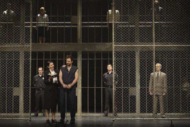 Les interprètes Allyson McHardy et Étienne Dupuis, de... (Photo fournie par la production)