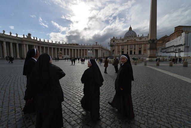 La Place Saint-Pierre, à Rome.... (Photo: AFP)