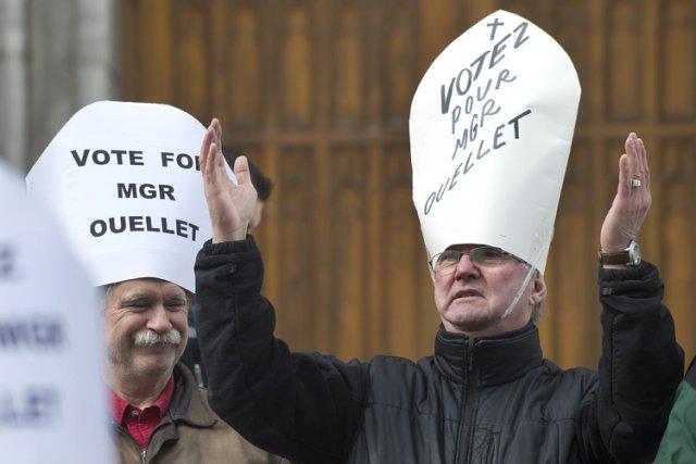 Des victimes de prêtres ont pris part à... (Photo: PC)