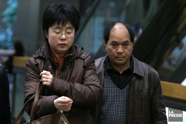 Le père de Lin Jun se présente au... (Photo: Martin Chamberland, archives La Presse)