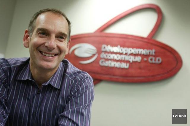 Le directeur de Développement économique CLD Gatineau, Michel... (Patrick Woodbury, Archives LeDroit)
