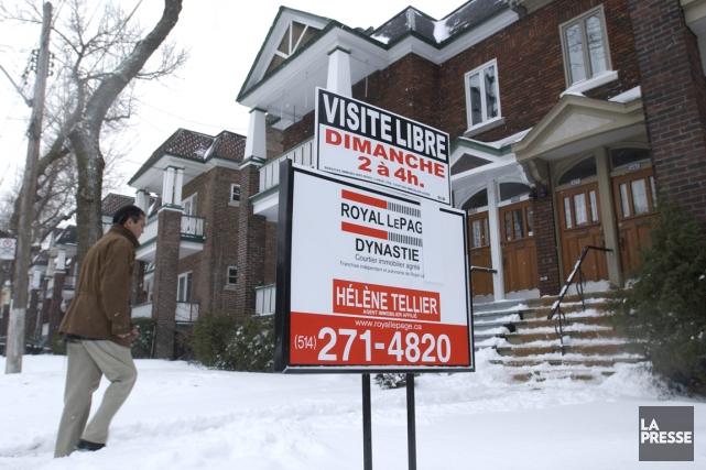 Selon la Chambre immobilière du Grand Montréal (CIGM),... (Photo Robert Skinner, Archives La Presse)