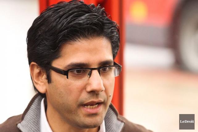 Le député d'Ottawa-Centre,Yasir Naqvi.... (Archives, LeDroit)