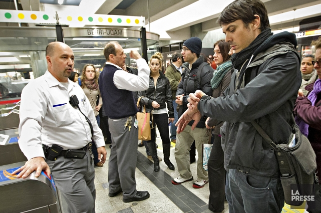 Il y a une bonne et mauvaise nouvelle à la suite de la panne du métro de... (Photo Patrick Sanfaçon, La Presse)