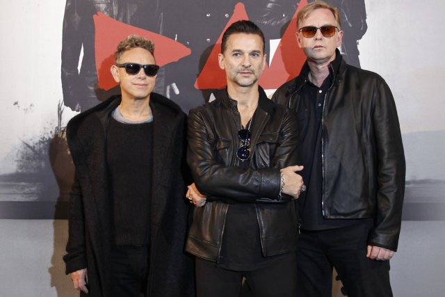 Martin Gore, Dave Gahan et Andrew Fletcher lanceront... (Photo: Reuters)