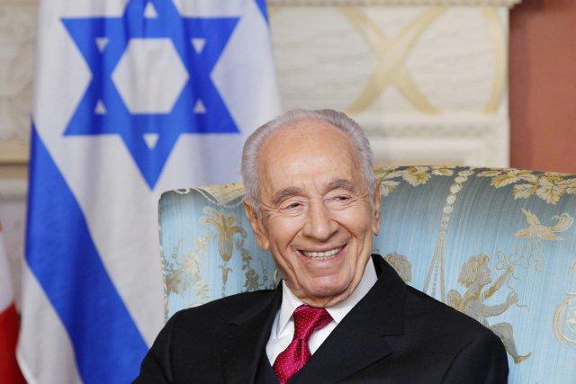 Le président israélien Shimon Peres.... (PHOTO BLAIR GABLE, REUTERS)
