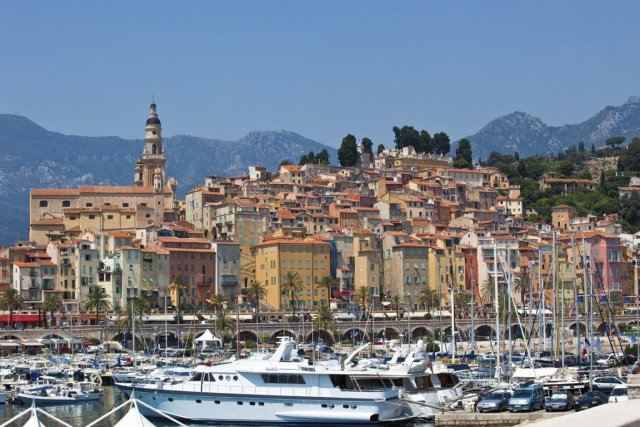 La ville de Menton en France tolère la... (PHOTO Photos.com)