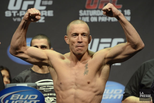 Georges St-Pierre... (Photo Bernard Brault, La Presse)