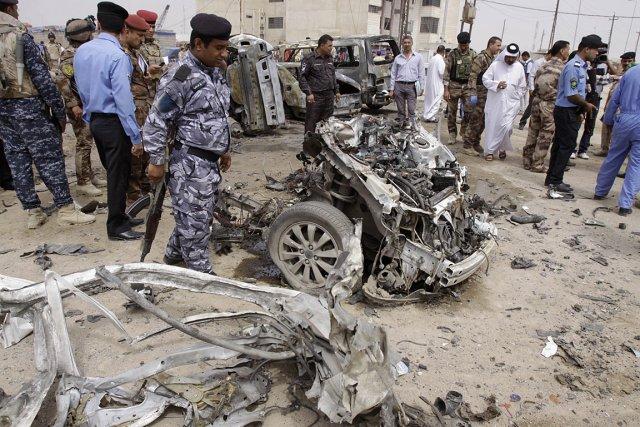 La ville de Bassora a été secouée par... (Photo: AP)