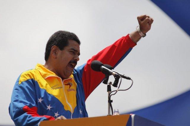 Nicolas Maduro... (PHOTO REUTERS)