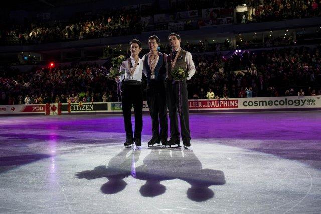 Le patinage artistique ne  s'est pas encore... (Photo Brendan Smialowski, AFP)