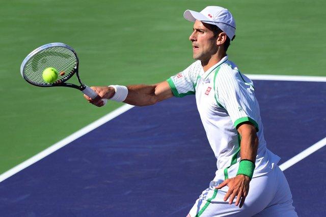 Novak Djokovic compte profiter de l'absence de Roger... (Photo Frederic J. Brown, AFP)