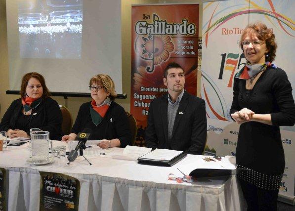 L'Alliance chorale régionale du Saguenay-Lac-Saint-Jean-Chibougamau-Chapais, mieux connue sous... (Photo Jeannot Lévesque)