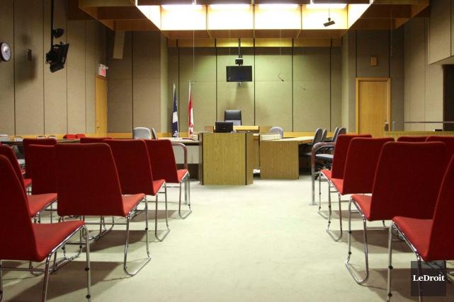 Le tribunal entend ces jours-ci l'histoire abjecte d'un homme accusé... (Patrick Woodbury, Archives LeDroit)