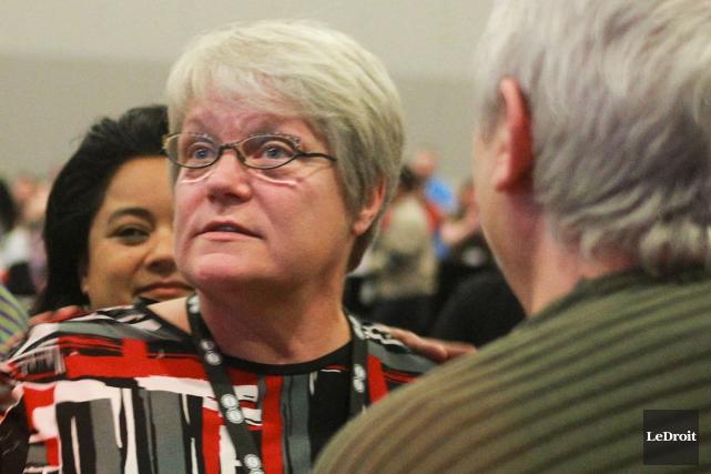 La présidente de l'AFPC, Robyn Benson... (Archives, LeDroit)