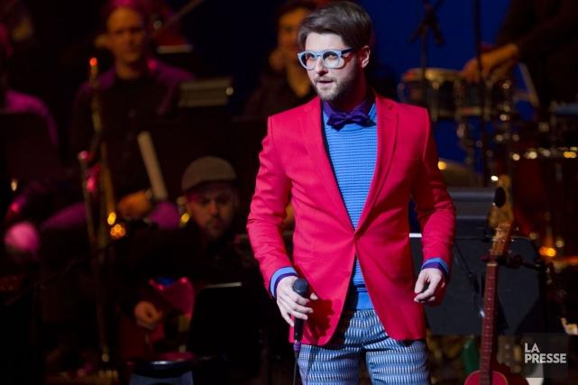 Le chanteur Pierre Lapointe n'a pas apprécié de... (PHOTO OLIVIER JEAN, LA PRESSE)