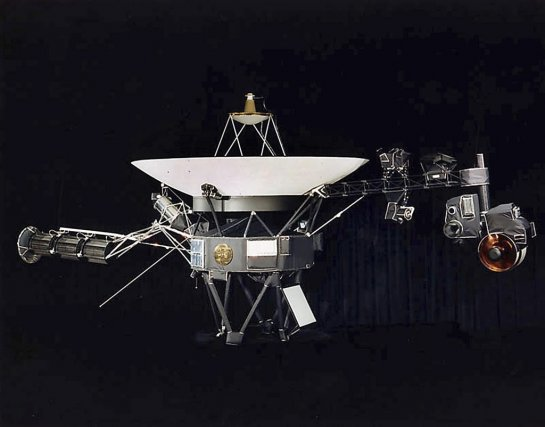 Voyager 1, lancée en 1977, se trouvait en... (Photo NASA)