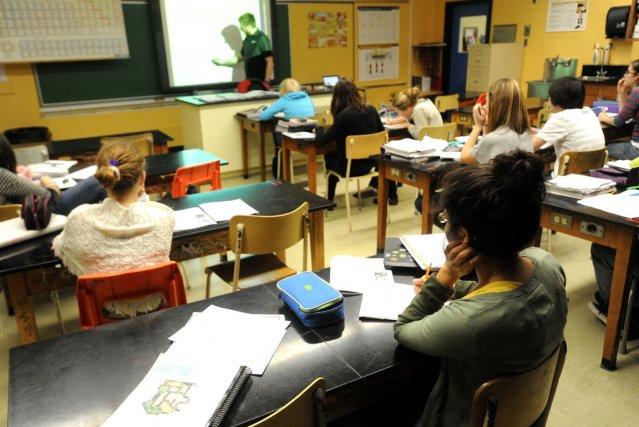 Bonne nouvelle dans le milieu scolaire : le décrochage continue de reculer en... (Archives La Tribune, René Marquis)