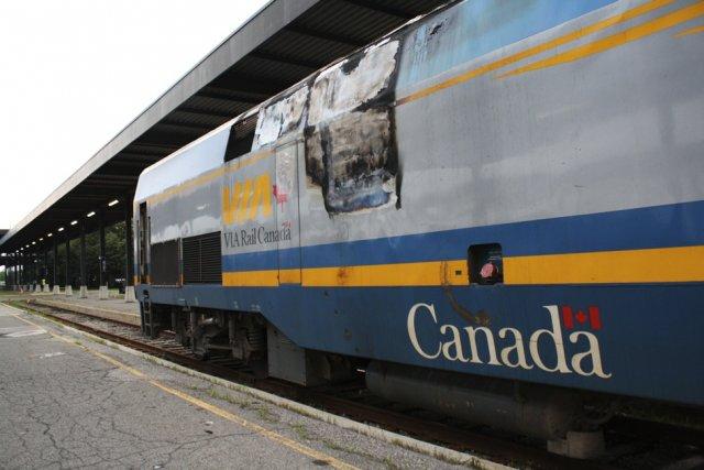 Un dirigeant de Via Rail affirme que le transporteur ferroviaire a connu une... (Photo Étienne Ranger, Le Droit)