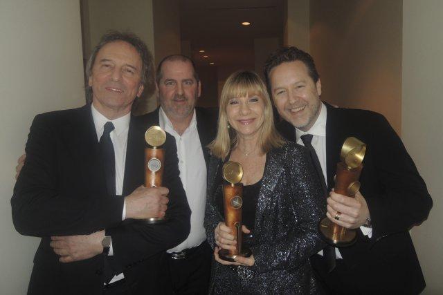 Une soirée remplie d'émotions pour Michel Côté, lauréat... (Photo: Herby Moreau, La Presse)