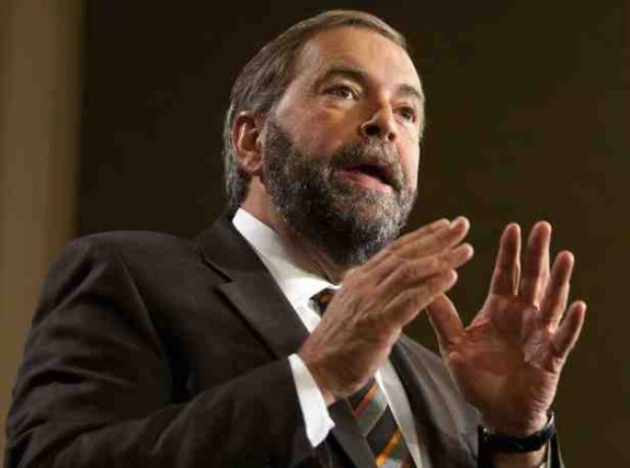 Thomas Mulcair... ((Archives))