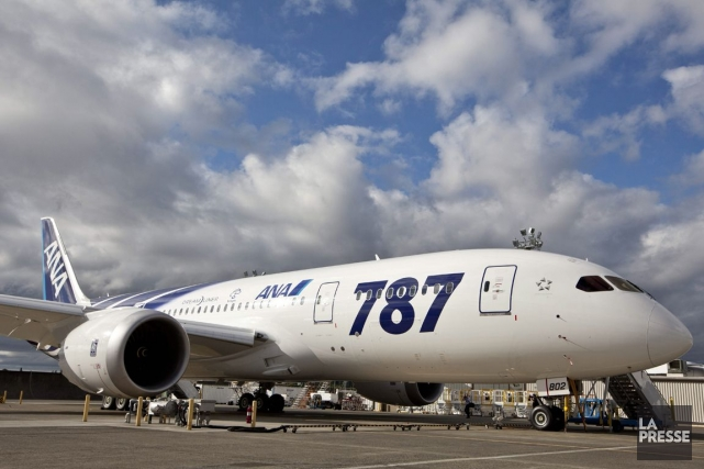 Le 787, l'appareil le plus récent et le... (Photo Associated Press)