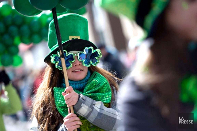 Le 191e défilé annuel de la Saint-Patrick de Montréal aura lieu dimanche... (Photo: archives La Presse)