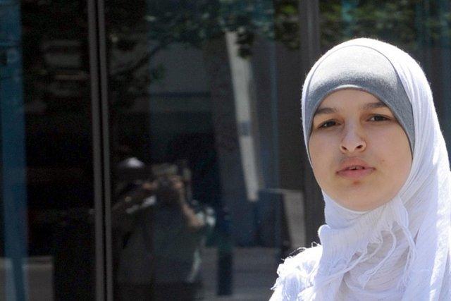 Une musulmane dans les rues de Marseille, en... (Photo: archives AFP)