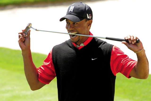 Tiger Woods a remporté le tournoi Invitation Arnold... (Photo Scott Miller, Reuters)