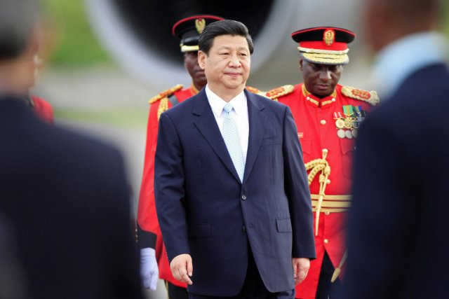 Le choix par Xi Jinping de la Tanzanie... (PHOTO THOMAS MUKOYA, REUTERS)