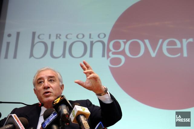 Le dossier judiciaire de Marcello Dell'Utri,ancien sénateur de... (PHOTO DAMIEN MEYER, AFP)