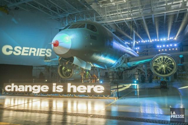 Bombardier vise toujours un premier vol avant la... (Photo Ivanoh Demers, La Presse)