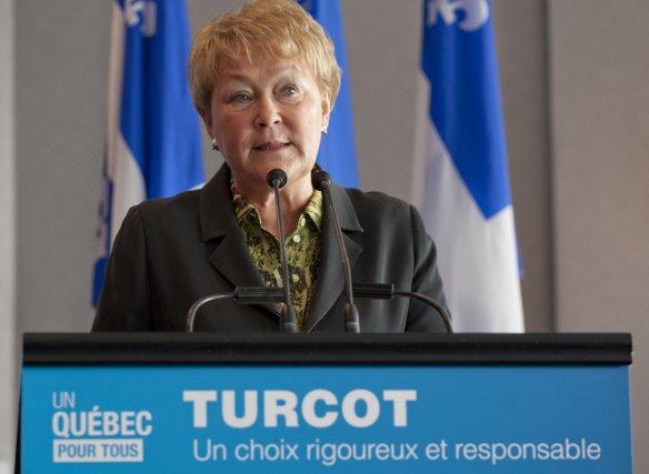 La première ministre Marois a affirmé, de façon... (Photo David Boily, La Presse)