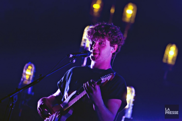 Alt-J en spectacle au Corona, en 2013.... (Photo: Olivier Jean, archives La Presse)