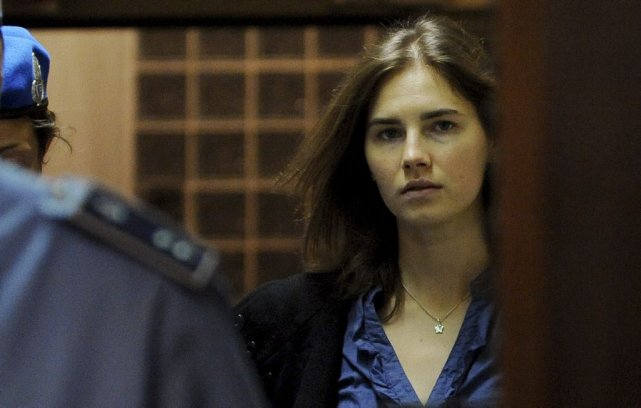 Amanda Knox... (Photo archives AFP)