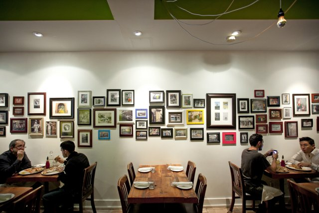 Chez Pizzeria Libretto, vous serez heureux: petites entrées... (Photo Marco Campanozzi, La Presse)