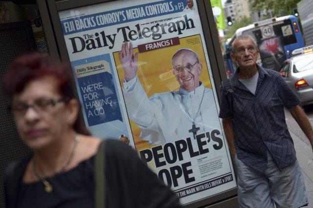 Le Times avait montré la voie en 2010 en instaurant un péage pour ses... (Photo: AFP)