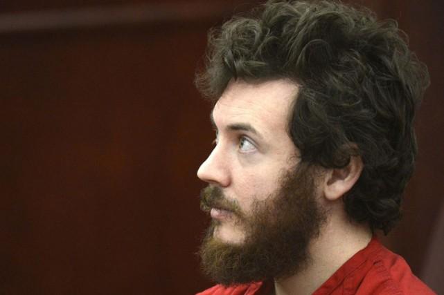 James Holmes en cour, en mars dernier.... (Photo: archives Reuters)