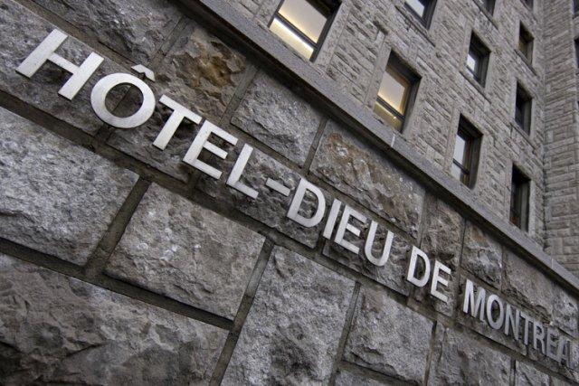 L'édifice patrimonial construit en 1861 qui abrite l'Hôtel-Dieu... (Photo: David Boily, La Presse)