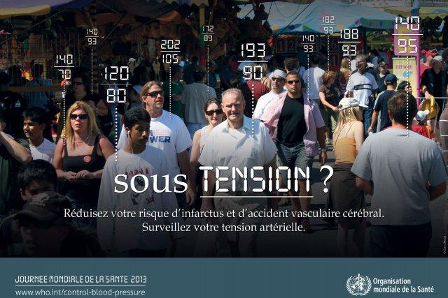 Articulée autour de l'hypertension artérielle, la prochaine Journée... (Photo Relaxnews/Journée mondiale de la Santé)