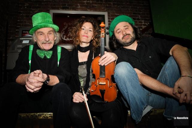 Le trio Trop loin d'Irlande... (Archives Le Nouvelliste)