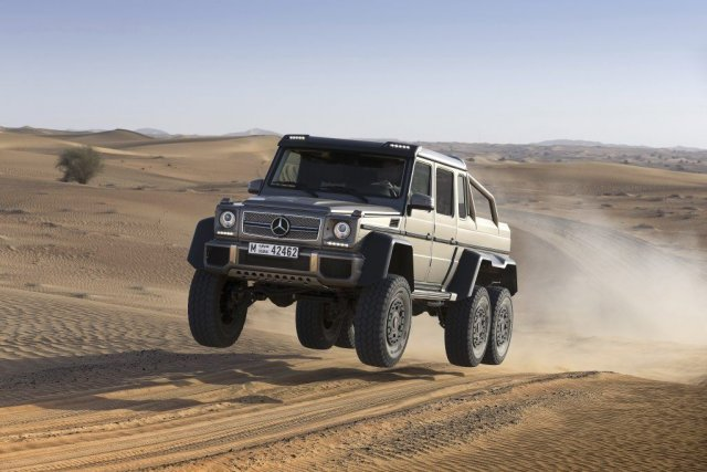 Le concept Mercedes-Benz G63 AMG 6X6.... (Photo fournie par Mercedes-Benz)