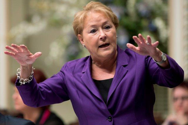 La première ministre Pauline Marois... (La Presse Canadienne)