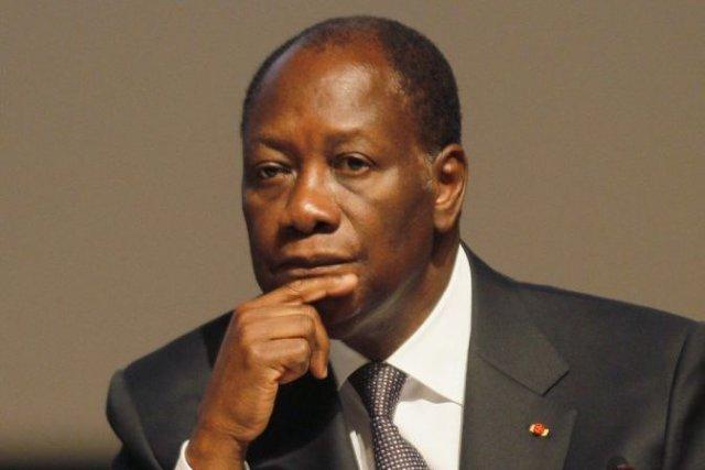 Le président de la Côte d'Ivoire Alassane Ouattara... (PHOTO : THIERRY GOUEGNON, ARCHIVES REUTERS)