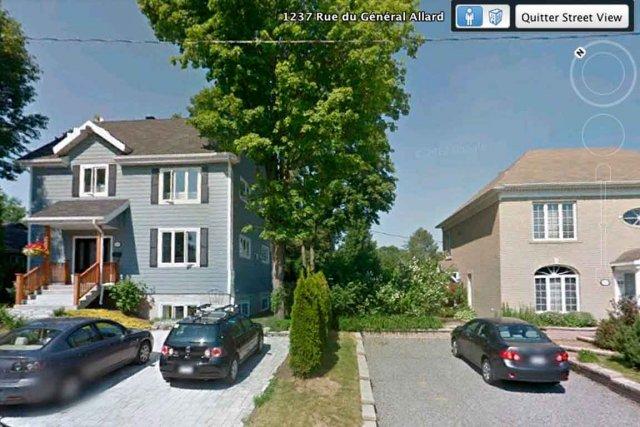 À l'origine un bungalow, le propriétaire de la... (IMAGE TIRÉE DE GOOGLE STREET VIEW)